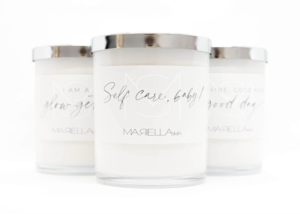New arrivals - Soy wax candles made in WA by Mariella Skin Perth WA