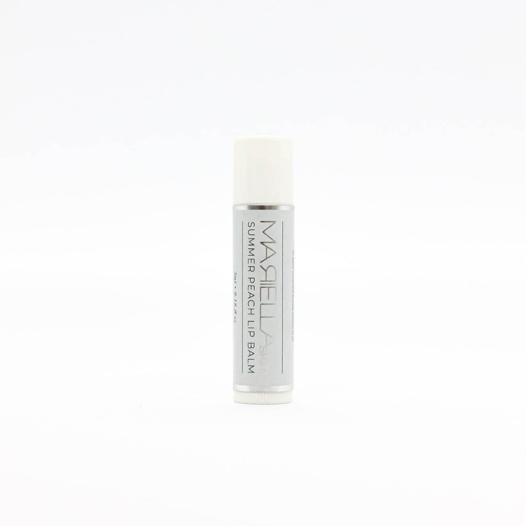 Summer Peach Lip Balm | Made in WA by Mariella Skin Perth WA