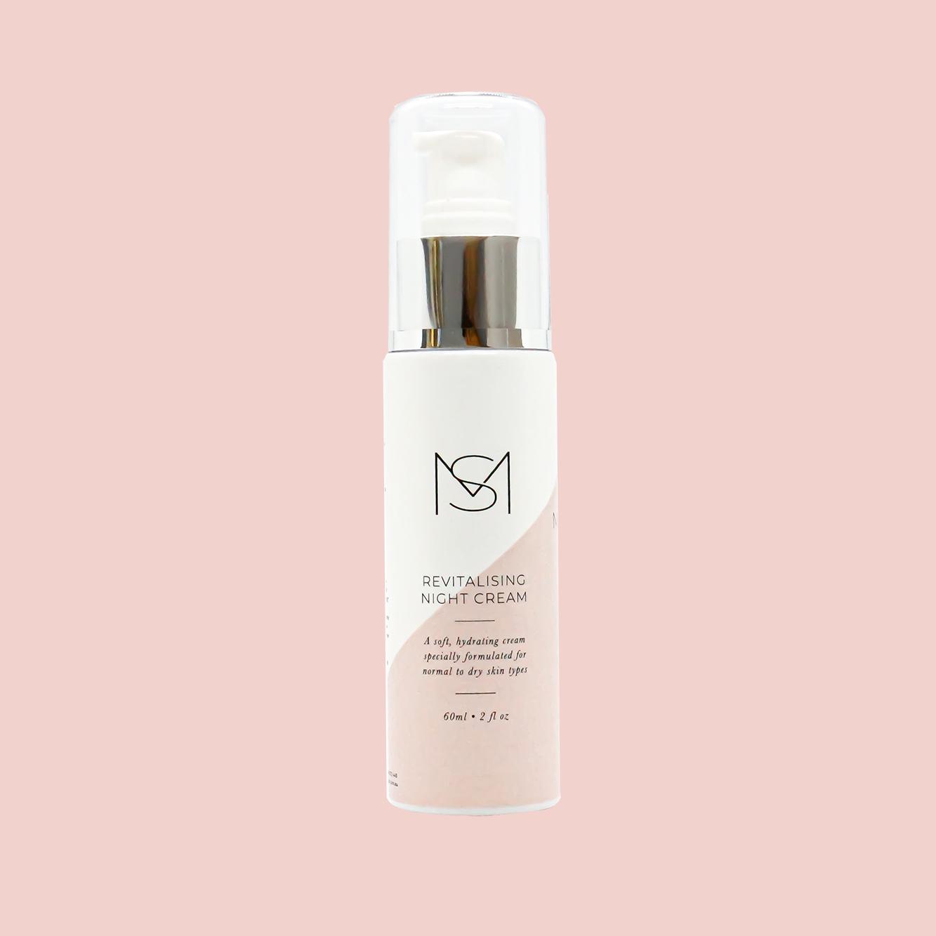 Revitalising Night Cream 60mL - Australian made skincare by Mariella Skin Perth 01
